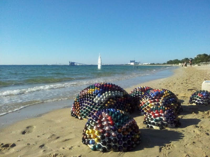 Castaways Sculpture Awards Recycled Art Rockingham